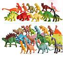 ราคาถูก ฟิกเกอร์ไดโนเสาร์-Pretend Play รุ่นและอาคารของเล่น Dinosaur พลาสติค