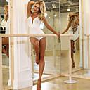 זול אקזוטי Dancewear-ריקוד לטיני בגדי גוף בגדי ריקוד נשים הצגה מילק פייבר מפרק מפוצל / סרבל תינוקותבגד גוף