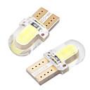 billiga Innerbelysning-10 st / lot t10 led w5w bil glödlampor led registreringsskylt inre läsmarkör 12v