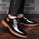ราคาถูก รองเท้าOxfordสำหรับผู้ชาย-สำหรับผู้ชาย รองเท้าอย่างเป็นทางการ หนัง ฤดูใบไม้ร่วง & ฤดูหนาว ธุรกิจ / คลาสสิก รองเท้า Oxfords ระบายอากาศ สีดำ / สีน้ำตาล / ฟ้า