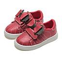 ราคาถูก รองเท้าผ้าใบเด็ก-เด็กผู้หญิง ความสะดวกสบาย หนังสัตว์ รองเท้าผ้าใบ เด็กน้อย (4-7ys) สีดำ / แดง ตก