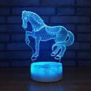 billiga Dekor och nattlampa-1st 3D nattlampa USB För Barn / Kreativ / Födelsedag 5 V