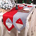 זול כיסויי שולחן-רצים מפות שולחן חג המולד רחיץ מטבח אוכל מחצלות קסם קישוטי מסיבות קישוטי בית navidad