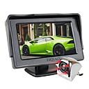Χαμηλού Κόστους Κάμερα Οπισθοπορείας Αυτοκινήτου-ziqiao 4.3 ιντσών tft lcd οθόνης αυτοκινήτου οθόνης βοηθητικό parking ir νυχτερινή όραση πίσω κάμερα θέα