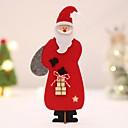 Χαμηλού Κόστους Χριστουγεννιάτικα Διακοσμητικά-Χριστουγεννιάτικα στολίδια Διακοπών Ξύλινος Mini Πρωτότυπες Χριστούγεννα Διακόσμηση
