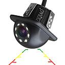 Χαμηλού Κόστους Κάμερα Οπισθοπορείας Αυτοκινήτου-ziqiao αυτοκίνητο οπίσθια κάμερα προβολή καθολική κάμερα στάθμευσης κάμερα στάθμευσης 8 οδήγησε νυχτερινή όραση