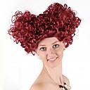 povoljno Cosplay za svaki dan-Cosplay kraljica srca Cosplay Wigs Žene 14 inch Sintetička vlakna Bouncy Curl Crvena Crvena Anime