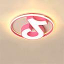 povoljno Flush Mount rasvjeta-CONTRACTED LED® 2-Light Geometrijski Flush Svjetla Downlight Slikano završi Aluminij Zatamnjen, LED 110-120V / 220-240V Meleg fehér / Hladno bijela