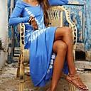 baratos Roupas de Mergulho & Camisas de Proteção-Mulheres balanço Vestido Abstrato Longo