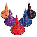 billige Bakeformer-1 stk festdekorasjon voksne kvinner kul svart heksehue til tilbehør til Halloween kostyme svart halloween fest hat tilbehør