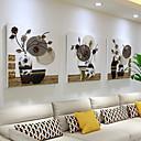 זול עיצוב וקישוט לקיר-תמונת שמן ממוסגרת - טבע דומם אקרילי ציור שמן וול ארט