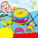 Χαμηλού Κόστους Παιχνίδια όργανα-Σετ ντραμς Χειρολαβές χειρός Ηχείο Σετ ντραμς Κλασσικό Πλαστική ύλη ABS 5 pcs Παιδικά Παιδιά Αγορίστικα Κοριτσίστικα Παιχνίδια Δώρο