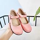 baratos Kids' Flats-Para Meninas Sapatos de Dança Moderna / Dança de Salão Pele Sapatilha Sem Salto Personalizável Sapatos de Dança Preto / Branco / Vermelho / Ensaio / Prática