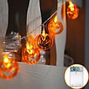 billige Kameralys, studio & tilbehør-1,2m10led lykta gresskar lys streng halloween spøkelse festival rom dekorasjon stjerne lys