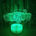 Χαμηλού Κόστους 3D φώτα τη νύχτα-αυτοκίνητο πολύχρωμο 3d φως οδήγησε ακρυλικό οπτικό στερεοφωνικό επιτραπέζιο λαμπτήρα αφής usb 3d επιτραπέζιο φωτιστικό