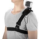 billiga Tillbehör till GoPro-Bröstbälte Klistrig Stretch Mobiltelefon För Actionkamera Resa Skjutning Bergsklättring ABS + PC