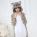 ราคาถูก ชุดนอน Kigurumi-ผู้ใหญ่ Kigurumi Pajama Bear Onesie Pajama ผ้าสำลี ขาว คอสเพลย์ สำหรับ ผู้ชายและผู้หญิง สัตว์ชุดนอน การ์ตูน Festival / Holiday เครื่องแต่งกาย