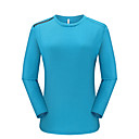 Χαμηλού Κόστους T-shirt Πεζοπορίας-Γυναικεία Tricou de Drumeție Μακρυμάνικο Εξωτερική Αναπνέει Γρήγορο Στέγνωμα Anti Transpirație Άνετο Φανέλα Φθινόπωρο Χειμώνας POLY Μαύρο Κόκκινο Μπλε