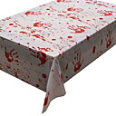 זול כיסויי שולחן-יום יומי סיבי פוליאסטר ריבוע כיסויי שולחן גיאומטרי חג ליל כל הקדושים לוח קישוטים