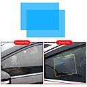 baratos Arandelas de Exterior-2 pcs filme do carro anti chuva filme repelente de água espelho do carro filmes transparentes janela anti reflexo espelho retrovisor anti nevoeiro filme à prova d 'água