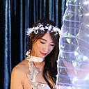 baratos Kits & Paletas para os Olhos-Acessórios de Dança Decoração de Cabelo Mulheres Espetáculo 100% Poliéster LED