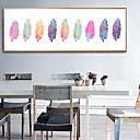 billige Innrammet kunst-Innrammet Oljemaleri - Still Life Akryl Olje Maleri Veggkunst