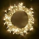 olcso LED szalagfények-BRELONG® 10 m Fényfüzérek 100 LED SMD 0603 Meleg fehér / RGB / Fehér Parti / Dekoratív / Összekapcsolható 220-240 V / 110-120 V 1db / IP65