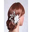cheap Party Headpieces-Rhinestone / Alloy Flowers with Crystals / Rhinestones 1 Piece Wedding Headpiece