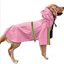 ราคาถูก เสื้อผ้าประวัติศาสตร์และวินเทจ-สุนัข Hoodies ชุดกันฝน Dog Clothes สีเงิน แดง ฟ้า เครื่องแต่งกาย สุนัขตัวใหญ่ Husky สุนัข Labrador Alaskan Malamute ไนลอน สีพื้น กันน้ำ ป้องกันลม S M L XL XXL XXXL