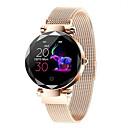 baratos Luzes Ilha-Hi18 smart watch bt rastreador de fitness suporte notificar / monitor de freqüência cardíaca esporte aço inoxidável smartwatch compatível iphone / samsung / android phones