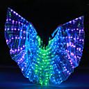 ราคาถูก ชุดเต้นรำลาติน-อุปกรณ์เสริมการเต้น ผ้าคลุมชุดเต้นระบำหน้าท้อง สำหรับผู้หญิง Performance Terylene LED