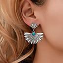 billige Fashion Rings-Dame Øredobb geometriske Botanisk øredobber Smykker Sølv Til Ferie 1 par