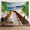 billige Wall Tapestries-Hage Tema / Klassisk Tema Veggdekor 100% Polyester Klassisk / Moderne Veggkunst, Veggtepper Dekorasjon