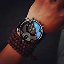 ราคาถูก นาฬิกากีฬา-สำหรับผู้ชาย นาฬิกาแนวสปอร์ต ญี่ปุ่น นาฬิกาอิเล็กทรอนิกส์ (Quartz) PU Leather ดำ / น้ำตาล กันน้ำ โครโนกราฟ ดีไซน์มาใหม่ ระบบอนาล็อก ภายนอก มาใหม่ - สีดำ สีดำ / สีน้ำตาล สองปี อายุการใช้งานแบตเตอรี่