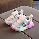 Χαμηλού Κόστους LED Παπούτσια-Αγορίστικα / Κοριτσίστικα LED / Ανατομικό PU Αθλητικά Παπούτσια Νήπιο (9m-4ys) / Τα μικρά παιδιά (4-7ys) Πορτοκαλί / Κίτρινο / Ροζ Άνοιξη / Φθινόπωρο / Συνδυασμός Χρωμάτων / Καοτσούκ