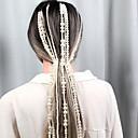 billige Gardiner-Perle Hodetkjede / Heklet hårfletting med Imiterte Perler / Kjede 1 Deler Bryllup / utendørs Hodeplagg