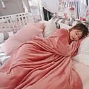 billige Tepper og pledd-Multifunksjonelle tepper, Helfarge polyester Myk comfy tepper