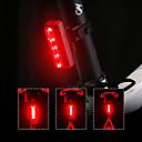 Χαμηλού Κόστους Φώτα Ποδηλάτου-LED Φώτα Ποδηλάτου πισω φαναρια LED Ποδηλασία Βουνού Ποδήλατο Ποδηλασία Γρηγορη Απελευθέρωση Διαβάθμιση χρώματος Πολυμερών Λιθίου 70 lm Επαναφορτιζόμενη Μπαταρία Κόκκινο Ποδηλασία / Περιστροφή 360°
