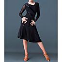 ราคาถูก ชุดเต้นรำลาติน-ชุดเต้นละติน ชุดเดรสต่างๆ สำหรับผู้หญิง Performance เส้นใยสังเคราะห์ ข้อต่อ ชุดเดรส