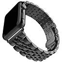 baratos Luzes & Lanternas de Acampamento-pulseira de relógio para apple watch series 5/4/3/2/1 apple business band pulseira de aço inoxidável