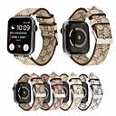 billiga Hundkläder-mode äkta läder armbandsur band för apple watch iwatch serie 4 3 2 1