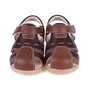 ราคาถูก รองเท้าผ้าใบเด็ก-เด็กผู้ชาย รองเท้าส้น หนังสัตว์ รองเท้าแตะ เด็กน้อย (4-7ys) สีน้ำตาล / สีดำ ฤดูร้อน