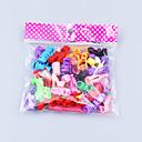 billiga Docktillbehör-Dockaskor För Barbie Enfärgad Ensfärgat Polyester Skor För Flicka Dockleksak