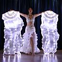 povoljno Egzotična plesna odjeća-Oprema za ples Rekviziti / Ventilatori Žene Seksi blagdanski kostimi 100% svile LED