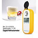 billige Målere og detektorer-dr402 digital øl refraktometer wort hydrometer brix 0-50% konsentrasjonsmeter refraktometer elektronisk vinalkohol tester