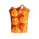 baratos Sombras-6 buraco fantasmas de morcego do dia das bruxas molde do bolo de silicone série halloween molde de cozimento fondant diy molde de sabão