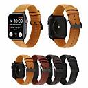 billige Smartwatch Bands-Klokkerem til Apple Watch Series 5/4/3/2/1 Apple Forretningsband Ekte lær Håndleddsrem