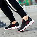 Χαμηλού Κόστους Αντρικά Αθλητικά Παπούτσια-Ανδρικά Παπούτσια άνεσης Φουσκωτό πηνίο Ανοιξη καλοκαίρι / Φθινόπωρο & Χειμώνας Αθλητικό Αθλητικά Παπούτσια Τρέξιμο / Περπάτημα Μη ολίσθηση Ριγέ Μαύρο / Μαύρο / Άσπρο / Συνδυασμός Χρωμάτων