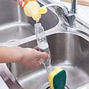 ราคาถูก อุปกรณ์ทำความสะอาดห้องครัว-น้ำยาล้างจานคันสบู่น้ำยาล้างจานแปรงคันแปรงทำความสะอาดห้องครัวเครื่องมือ