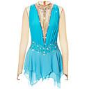 Χαμηλού Κόστους Παιδικά Ρούχα Χορού-21Grams Φόρεμα για φιγούρες πατινάζ Γυναικεία Κοριτσίστικα Patinaj Φορέματα Ροζ Γιαν Βιολετί Λευκό / Λευκό Spandex Ελαστικό Νήμα Υψηλή Ελαστικότητα Ανταγωνισμός Ενδυμασία πατινάζ Χειροποίητο